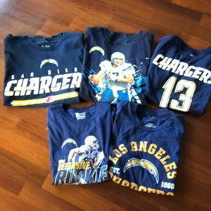 Other - Chargers fans! 5 Youth T-shirt's